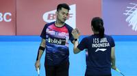 Ganda campuran Leo Rolly Carnando/Indah Cahya Sari Jamil melaju ke semifinal Kejuaraan Dunia Junior Bulu Tangkis 2019. (PBSI)