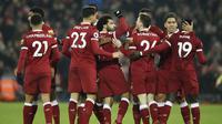 7. Liverpool - 461 juta euro. (AFP/Oli Scarff)