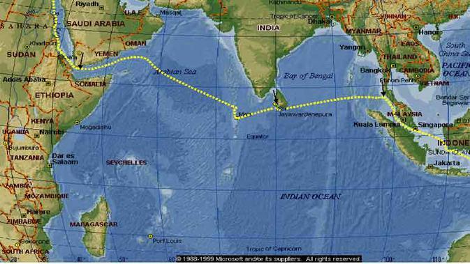 Samudera Hindia, tempat yang disinyalir sebagai jatuhnya pesawat MH370 ternyata menyimpan sejumlah fakta mistis.