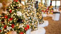 Ilustrasi pohon natal.l (dok. Pixabay.com/Adhita Diansyavira)