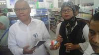 BPOM Jambi melakukan inspeksi mendadak (sidak) ke sejumlah toko. (Dok. Istimewa/B Santoso)