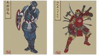 7 Karakter Marvel di Versi Hero Jepang (sumber:Instagram/@takumitoxin.tm)