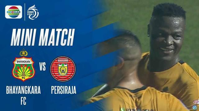 Berita Video, Momen Penting pada Pertandingan Bhayangkara FC Vs Persiraja Banda Aceh, Sabtu (29/8/2021)