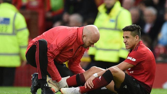Winger Manchester United, Alexis Sanchez.