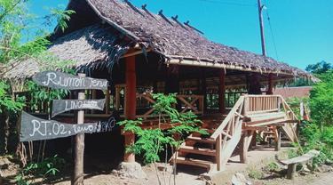 Rumah Tenun Lewokluok yang berada di Desa Lewokluok, Kecamatan Demon Pagong, Kabupaten Flores Timur, Nusa Tenggara Timur (NTT). (Foto Istimewah)