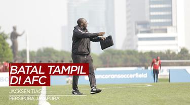 Berita Video Tanggapan Jacksen Tiago Usai Persipura Jayapura Batal Tampil di AFC