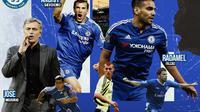 Chelsea - Jose Mourinho dan Pemain Chelsea: Mateja Kezman, Tal Ben Haim, Steve Sidwell, Radamel Falcao, Andriy Shevchenko (Bola.com/Adreanus Titus)