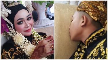 Viral Pendamping Pengantin Tertidur Pulas di Pelaminan, Curi Perhatian Netizen