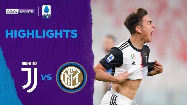 Berita video highlights Serie A 2019-2020, Juventus vs Inter Milan yang berakhir dengan skor 2-0 di Allianz Stadium, Torino, Minggu (8/3/2020).