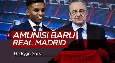 Berita Video Berita Video Real Madrid Kenalkan Rodrygo Goes, Wonderkid asal Brasil
