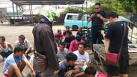 Penggerebekan Kampung Bahari, Jakarta (Liputan6.com/ Moch Harun Syah)
