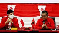 Sekjen PDIP Hasto Kristiyanto saat menerima delegasi PKP di kantor PDIP, Menteng, Jakarta Pusat. (Ist)