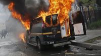 Rusuh di Baltimore, Maryland. (Reuters)