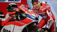 Pebalap Spanyol, Jorge Lorenzo, akan memulai MotoGP 2017 bersama tim barunya, Ducati. (EPA/Giorgio Benvenuti)