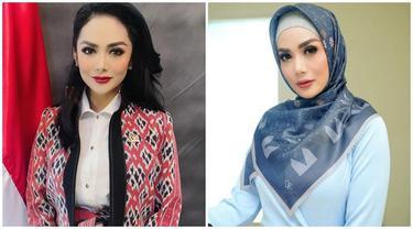 8 Pesona Krisdayanti saat Pakai Hijab, Disebut Makin Anggun