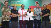 KONI akan mengambil alih tugas Satlak Prima yang dibubarkan Presiden Jokowi untuk mengurusi persiapan Asian Games dan Asian Para Games 2018.(Kemenpora/Bagus)