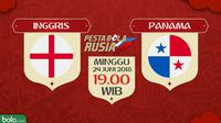 Piala Dunia 2018 Inggris Vs Panama (Bola.com/Adreanus Titus)