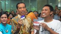 Jokowi Saat Meresmikan Kartu Indonesia Pintar  (Liputan6.com/Herman Zakharia)