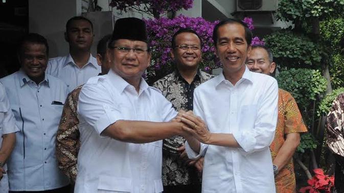 Jokowi Dan Prabowo  (Liputan6.com\Herman Zakharia)