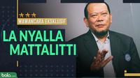 Wawancara Eksklusif - La Nyalla Mattalitti (Bola.com/Adreanus Titus)