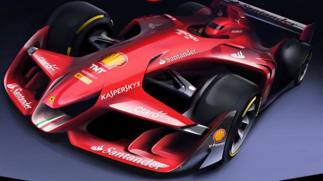 Heboh Desain Mobil Balap Masa Depan Ferrari F1 Bola Com