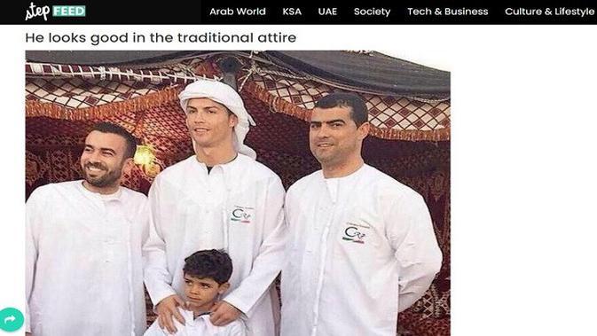 Gambar Tangkapan Layar Foto dari Situs stepfeed.com