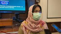 Dirut RSUD Depok, Devi Mayori, saat ditemui di Balai Kota Depok, Selasa (24/11/2020). (Liputan6.com/Dicky Agung Prihanto)