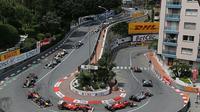 Sirkuit Monaco memiliki karakter menantang namun juga bisa membuat balapan menjadi membosankan. (YouTube)