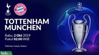Liga Champions - Tottenham Hotspur Vs Bayern Munchen (Bola.com/Adreanus Titus)