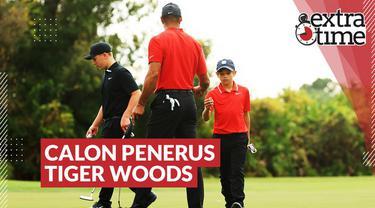 Berita video, Charlie Axel Woods penerus dari Tiger Woods