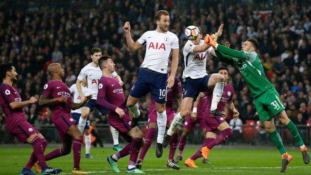 Gilas Tottenham Hotspur, Manchester City Kian Dekat ke Tahta Juara Liga Inggris