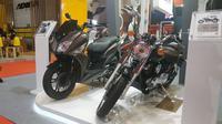 SYM dan SM Sport Bawa Dua Motor Baru di Jakarta Fair 2019 (Arief A / Liputan6.com)