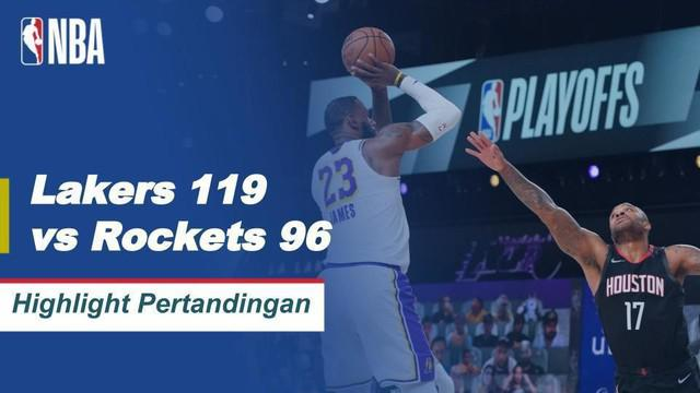 Berita Video Highlights NBA, LA Lakers Berhasil Melaju ke Final Wilayah Barat Usai Kalahkan Houston Rockets