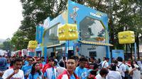 Bank Mandiri sebagai salah satu official prestige partner Asian Games 2018 turut mendukung penyelenggaraan Asian Games 2018.