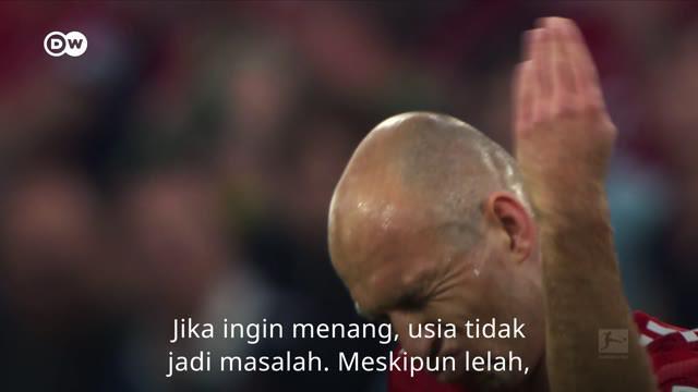 Berita video dua pahlawan gaek Bayern Munchen, Arjen Robben dan Franck Ribery, menuju pada masa akhir bersama klub. Dapatkah keduanya merasakan gelar juara Bundesliga musim ini?