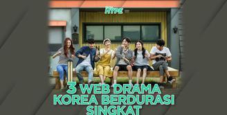 Apa saja web drama Korea yang ringan dan cocok untuk mengisi waktu luang? Yuk, cek video di atas!