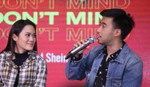 "Preskon video klip ""I Dont Mind"" (Nurwahyunan/bintang.com)"