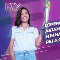 Mikha Tambayong rela olahraga intens sebagai persiapan bawa obor Asian Games 2018.