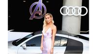 Brie Lrson hadiri premier Avengers: Endgame di Los Angeles (Sumber: Instagram/@brielarson)