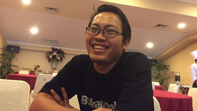 CEO Bukalapak Achmad Zaky ketika ditemui Tekno Liputan6.com di Jakarta. (Liputan6.com/ Jeko Iqbal Reza)