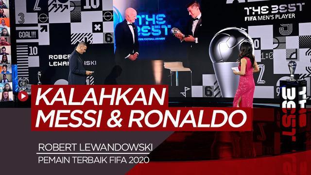 Berita video Robert Lewandowski meraih penghargaan Pemain Terbaik FIFA 2020 usai kalahkan 2 kandidat terkuat, Cristiano Ronaldo dan Lionel Messi