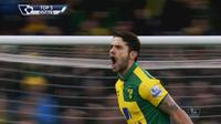Video highlights 5 gol terbaik Premier League pekan ke-26, gol spektakuler Robbie Brady gagal ditahan kiper dari tim West Ham.