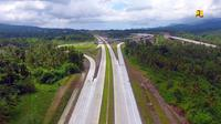 Pembangunan Jalan Tol Manado–Bitung (Mabit) sepanjang 39,9 km. (Foto: Kementerian PUPR)