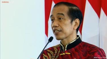 Presiden Jokowi ikut hadir di acara Imlek Nasional 2021