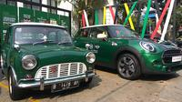 Perusahaan mobil asal Inggris, MINI, tahun ini genap berusia 60 tahun. (Khema/Liputan6.com)