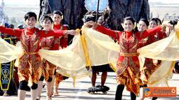Citizen6, Lebanon: Moment syuting di Indobatt difokuskan kepada kegiatan seni kebudayaan Indonesia yang sudah menjadi ciri khas Satgas Kontingen Garuda di Lebanon. (Pengirim: Badarudin Bakri)