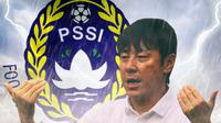 Shin Tae-yong - Konflik PSSI (Bola.com/Adreanus Titus)