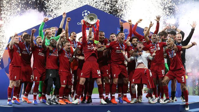 Juara Liga Champions 2019 Liverpool Berpotensi Samai Trofi Ac Milan Bola Liputan6 Com