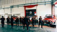 Asah kerja sama antar personel, Unit ARFF Bandar Udara I Gusti Ngurah Rai Gelar ARFF Challenges.