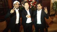 Glenn Fredly, Tompi dan Shandy Sondoro yakin dengan kemimpinan Jokowi sebagai kepala daerah akan menjadi modal untuk memimpin Indonesia.